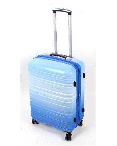 średnia walizka Snowboll 24 85703 Blue