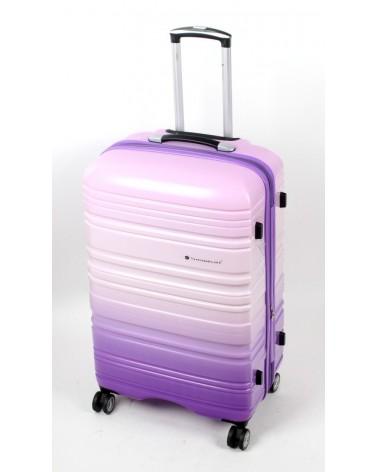 Duża walizka snowboll 28 85703 Fiolet