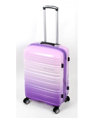 średnia walizka snowboll 24 85703 fiolet