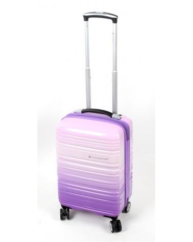 Mała walizka snowboll 20 85703 fiolet