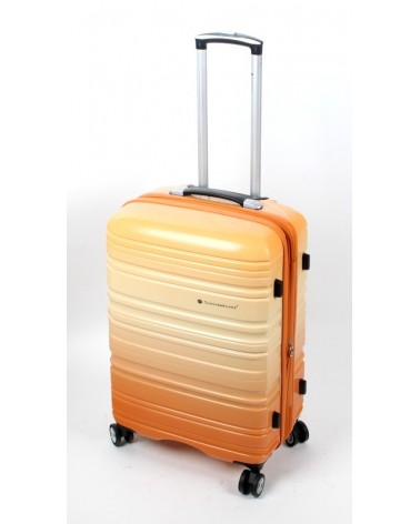 średnia walizka snowboll 24 85703 pomarańcz