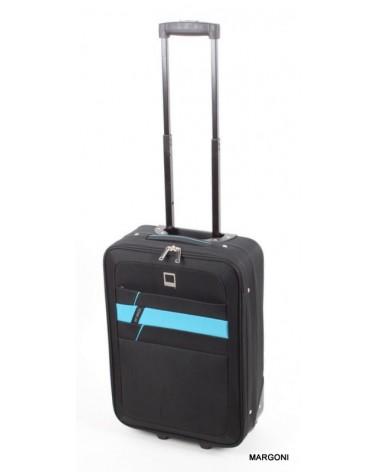 Mała walizka viaggiatore 20 mv302 czarny
