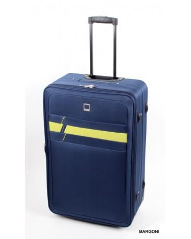 Duża walizka viaggiatore 28 mv302 niebieski