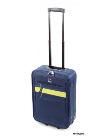 Mała walizka viaggiatore 20 mv302 niebieski