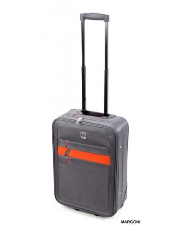 Mała walizka viaggiatore 20 mv302 szary