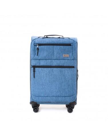 Średnia walizka sumatra 24 oslo 6202 niebieski