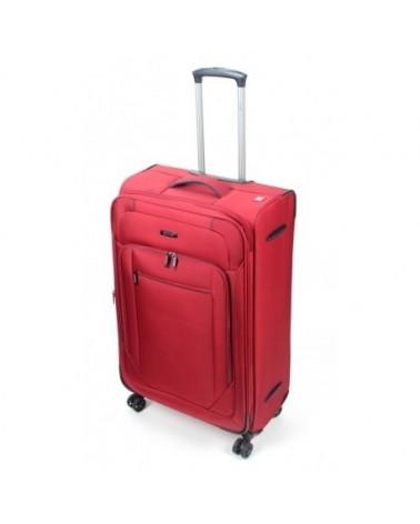 Duża walizka viaggiatore 28 mv103 czerwony
