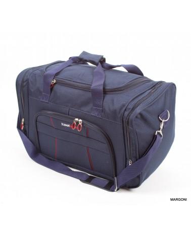 Średnia torba travel sport 22 sh-680 niebieska