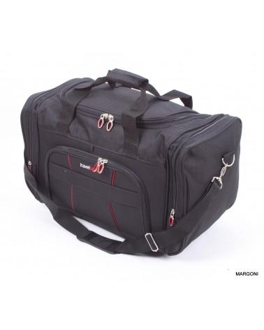 średnia torba travel sport 22 sh-680 czarna