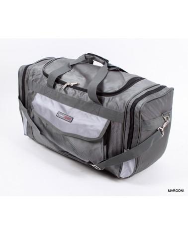 Duża torba travel sport 66 a1103 szara