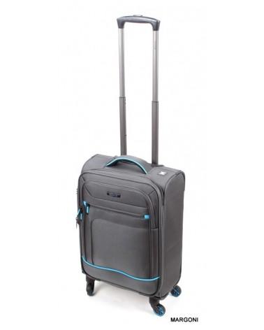 Mała walizka viaggiatore 19 mv106 szara