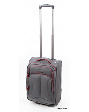 Mała walizka viaggiatore 19 mv107 szara