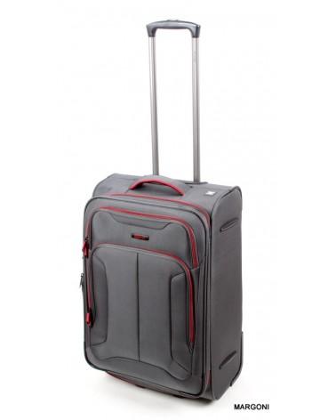 średnia walizka viaggiatore 24 mv107 szara