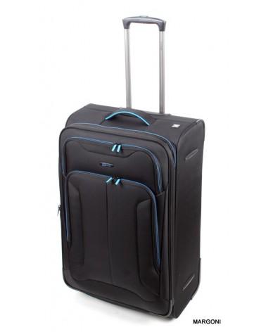 Duża walizka viaggiatore 28 mv107 czarna