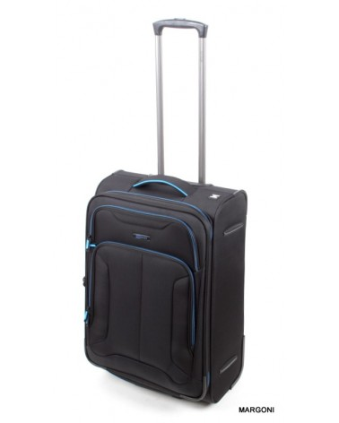 średnia walizka viaggiatore 24 mv107 czarna