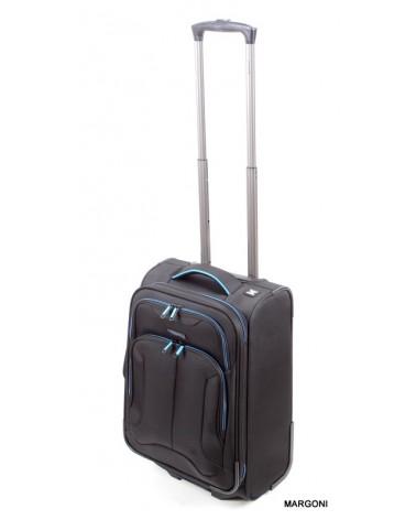 Mała walizka viaggiatore 19 mv107 czarna