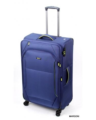 Duża walizka viaggiatore 28 mv105 niebieska