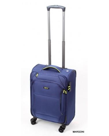 Mała walizka viaggiatore 19 mv105 niebieska