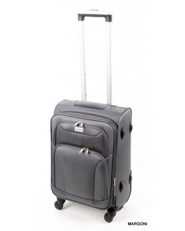 Mała walizka coco divo 20 6802 szara