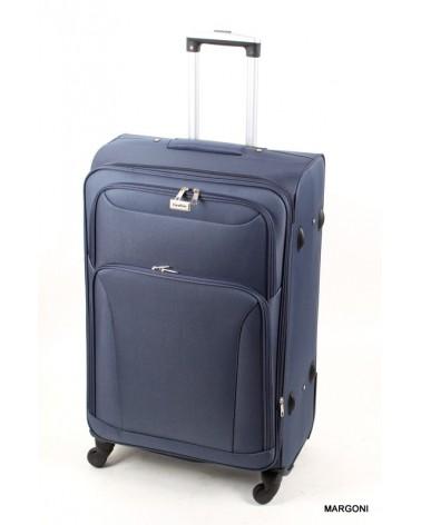 Duża walizka coco divo 28 6802 niebieska