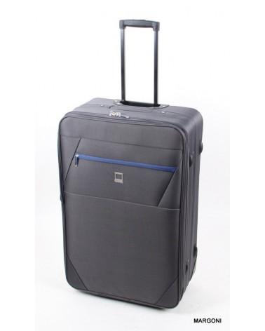 Duża walizka viaggiatore 27 mv304 szara