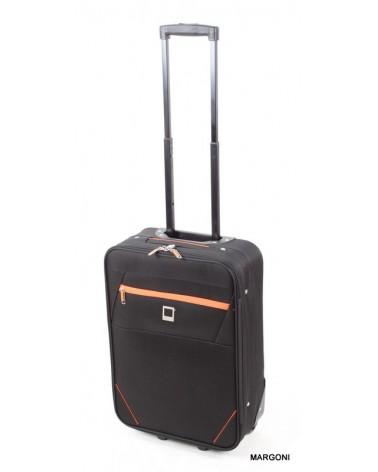 Mała walizka viaggiatore 19 mv304 czarna