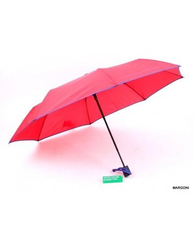 Parasolka damska Benetton Mini AC 56603 czerwona