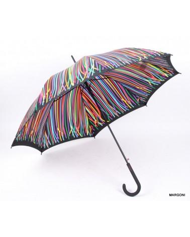 Parasolka damska benetton Long AC 56801 kolorowy