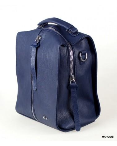 Plecak-torba damski Zia fedele niebieski
