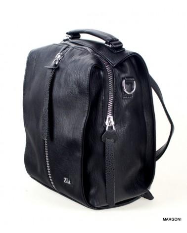 Plecak-torba damski zia fedele czarny