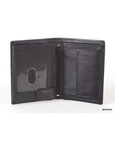 Portfel skórzany męski marco pm-520 czarny