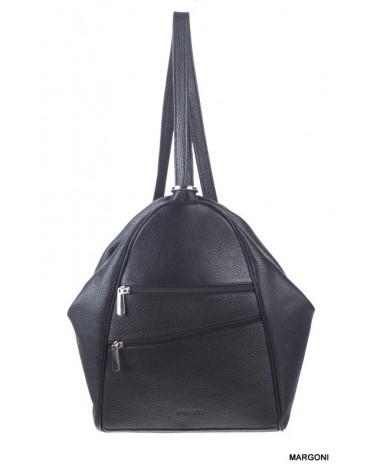 Plecak damski skórzany Baju Baj 13-32 czarny