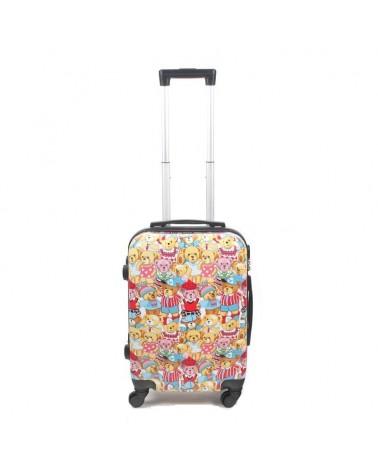 Mała walizka Bagia Misie BL 27