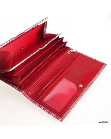 Portfel damski baju baj 080 czerwony