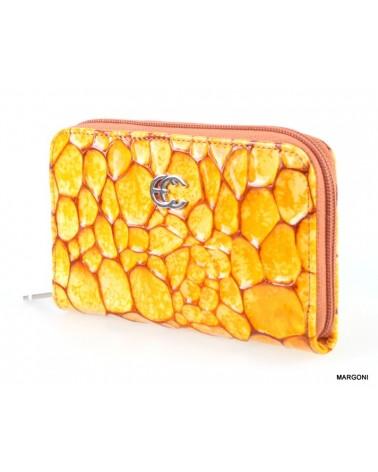 Portfel damski carra pd-261 żółty