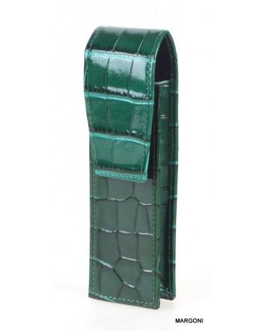 Etui na długopisy bellucci et-1 zielone