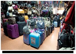 sklep z walizkami podróżnymi